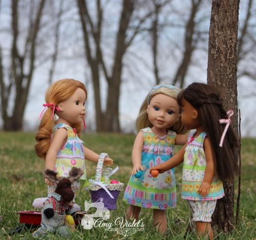 3 girls bunny (2)