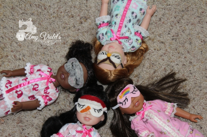 Girls sleep masks 1